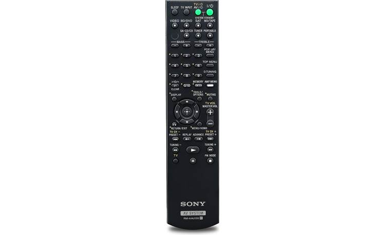Sony STR-DH130 Remote