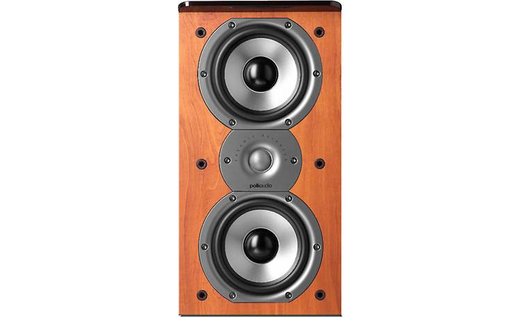 Polk Audio TSi200 Pictured without grille (cherry)