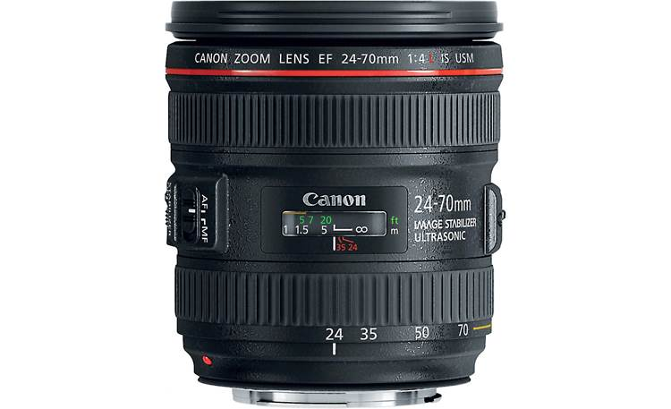 Canon EF 24-70mm f/4L IS USM Lens Front