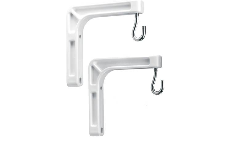 Da-Lite 40932 Wall Mount Brackets Front