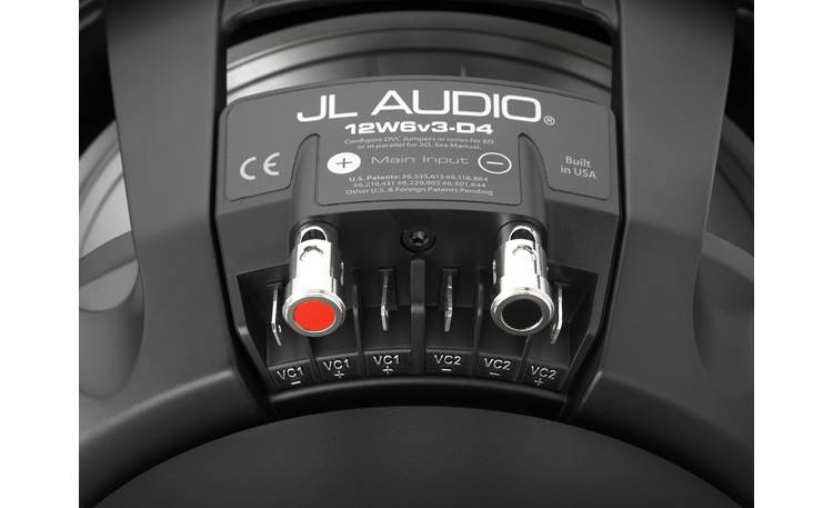 JL Audio 12W6v3-D4 Other