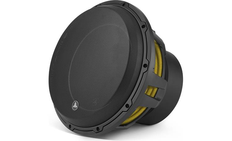 JL Audio 12W6v3-D4 Shown with optional grille (sold separately)