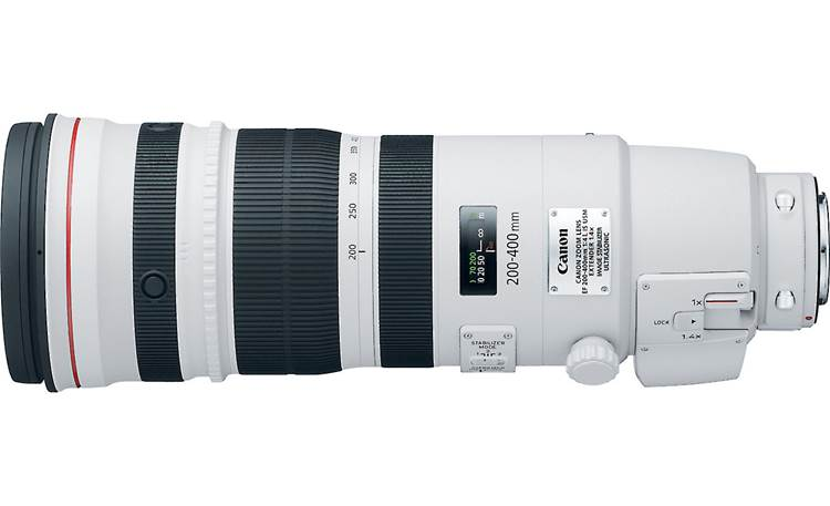 Canon EF 200-400mm f/4L IS USM Lens Top view