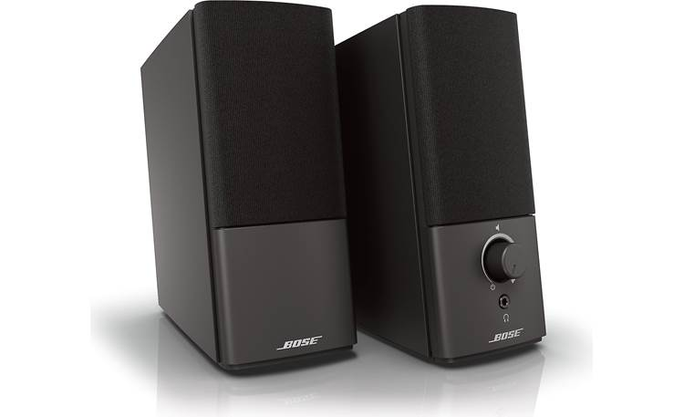 Bose® Companion® 2 Series III multimedia speaker system Angled front view