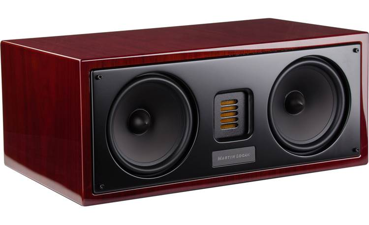 MartinLogan Motion® 30 Grille off (Black Cherrywood)