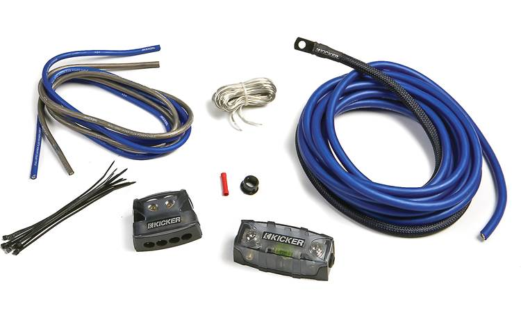 Kicker PKD4 4-gauge multi-amp power kit