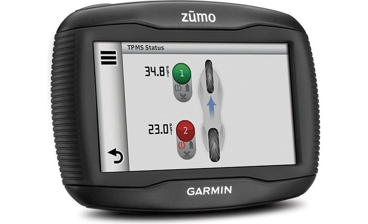 Garmin Tire Pressure Monitor Sensor See each tire's pressure on your zumo 390LM (navigator not included)