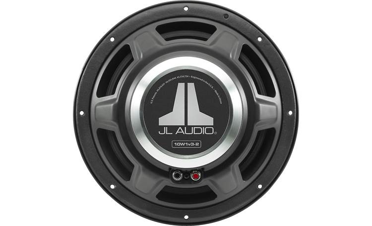 JL Audio 10W1v3-2 The magnet and basket structure are at the heart of the W1v3's power plant