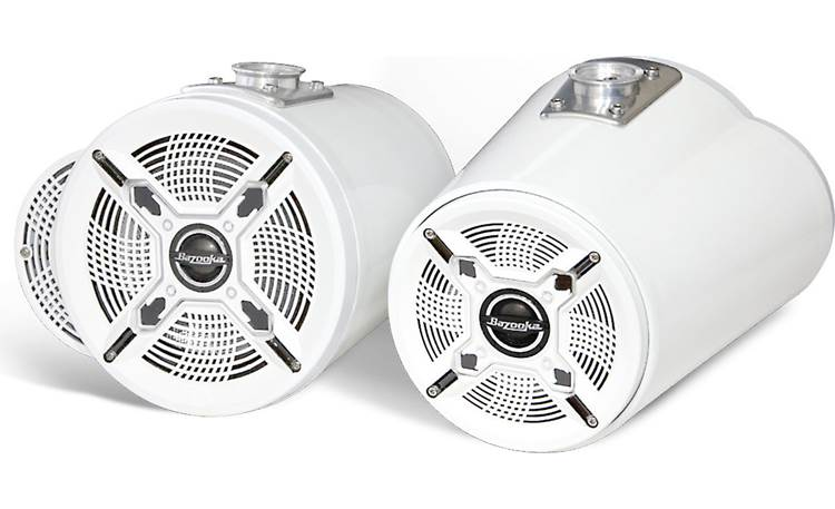 Bazooka MT8265W Double Ended Tubbies (Pair) Each pod features two speakers