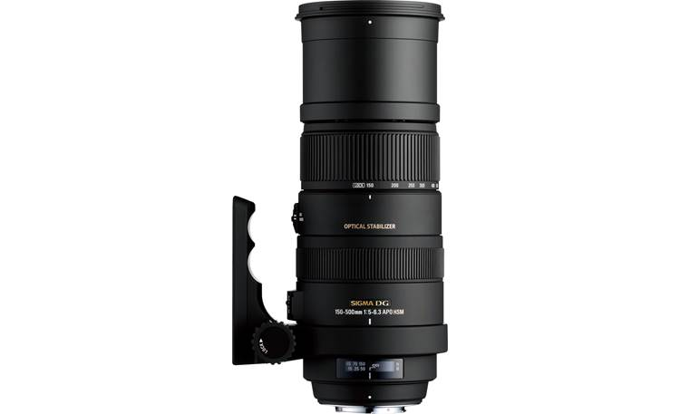 Sigma Photo 150-500mm f/5-6.3 Zoom Lens Front (Nikon mount)