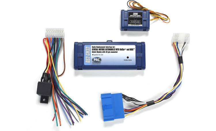 PAC OS2-GM32 Wiring Interface Front