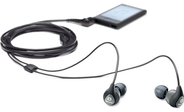 Shure SE112 Connect them to your smartphone (not included)