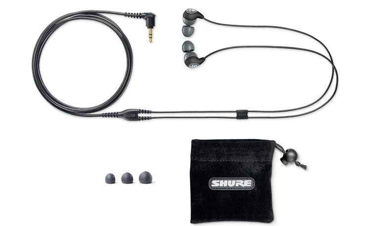 Shure SE112 With included accessories