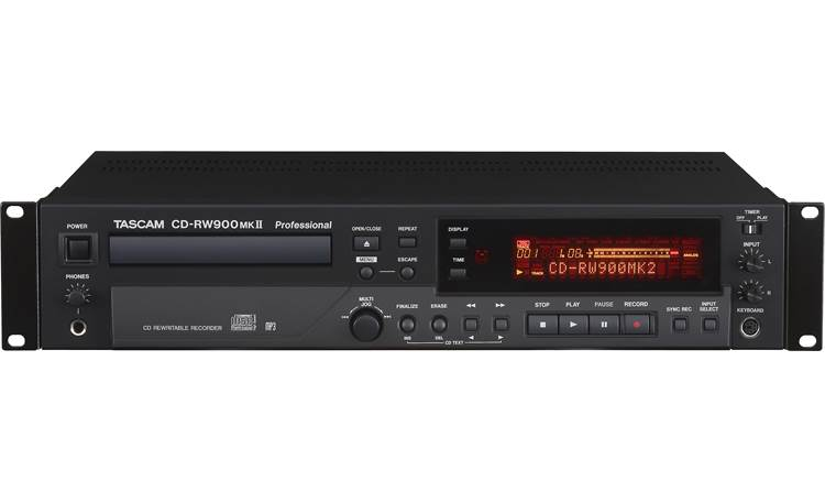 Tascam CD-RW900MKII Direct front view