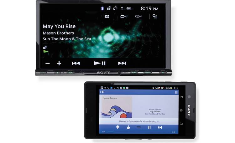 Sony XAV-712HD Phone not included