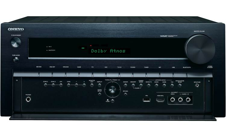 Onkyo TX-DS838 AV Control Tuner Digital Integrated High Power 5.1 Channel Free shipping
