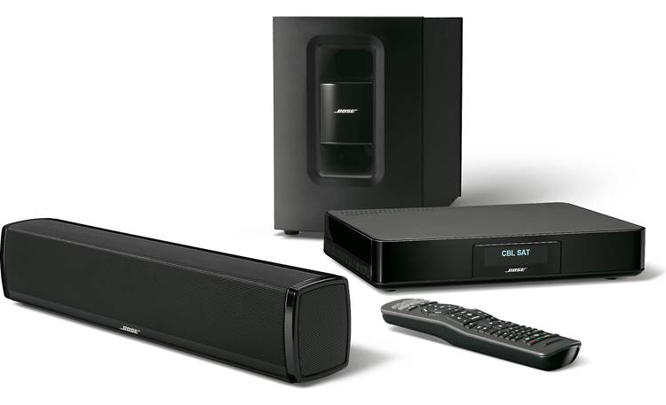 Bose® CineMate® 120 home theater system Front