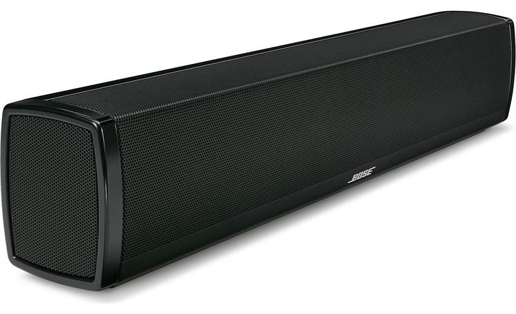 Bose® CineMate® 120 home theater system Sound bar - angled left