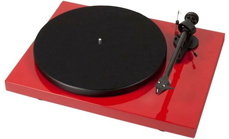 Pro-Ject Debut Carbon (DC) Gloss Red (dust cover included, not shown)