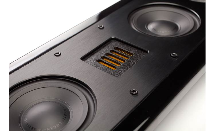 MartinLogan Motion® SLM XL Close-up detail of Folded Motion tweeter and woofer cones