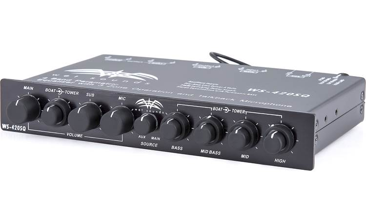 Wet Sounds WS 420 SQ Two seperate EQs in one compact package