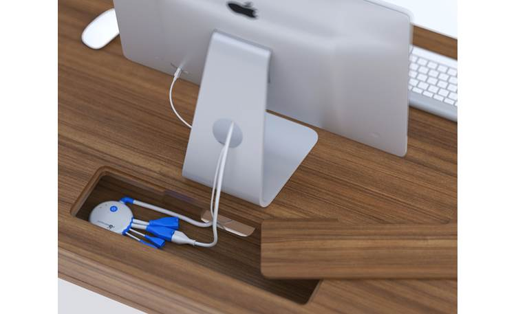 BDI Modica™ 6341 Power strip inset (power strip and computer not included)