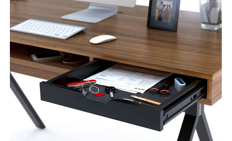 BDI Modica™ 6341 Drawer detail (office accessories not included)
