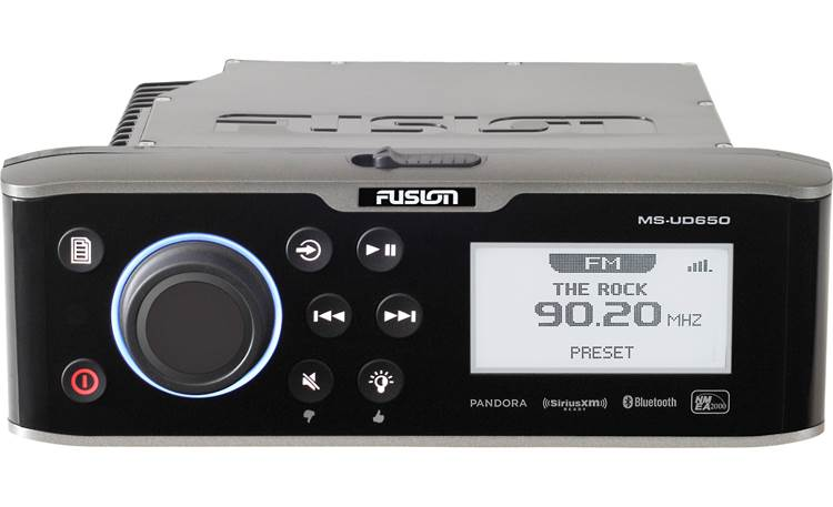 Fusion MS-UD650 receiver with internal dock