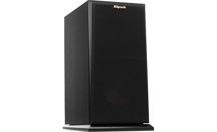 Klipsch Reference Premiere RP-160M Angled front view with grille attached (Ebony)