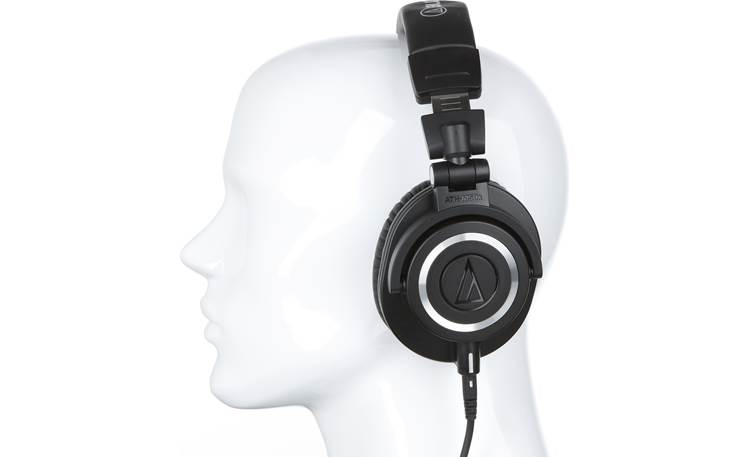 Audio-Technica ATH-M50x Mannequin shown for fit and scale