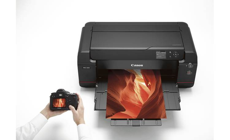 Canon imagePROGRAF PRO-1000 Print wirelessly from a compatible camera