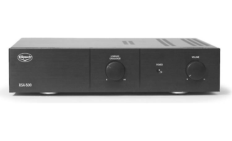 Klipsch RW-5802 II + RSA-500 Matching RSA-500 amplifier included