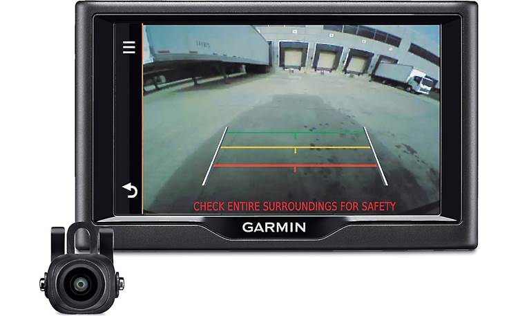 Garmin BC 30 Image displayed by Garmin navigator (not included)
