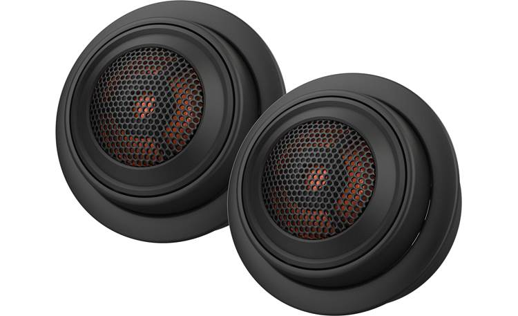 JBL Club 750T These 3-ohm tweeters are sensitive enough that you can power them with a factory radio, an aftermarket radio, or an amp
