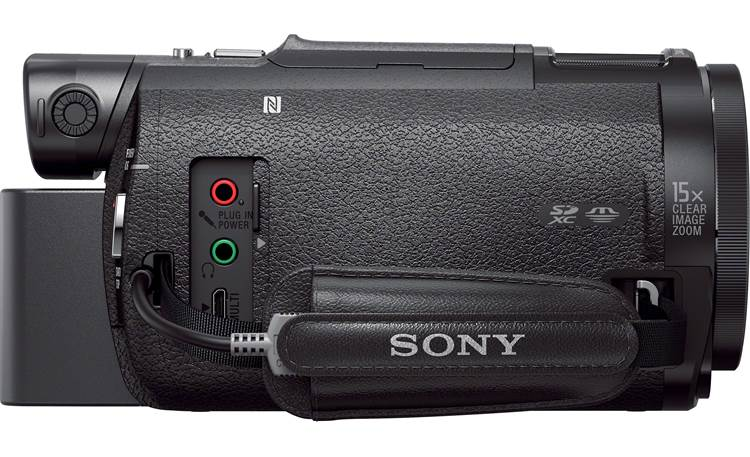 Sony Handycam® FDR-AX33 Right side