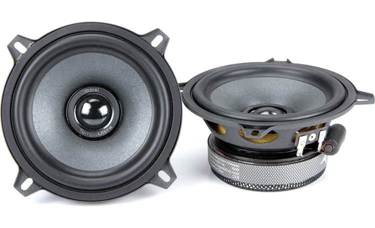 Morel Tempo Ultra Integra 502 Morel builds the Tempo Ultra Integra tweeter recessed in the woofer cone to improve imaging