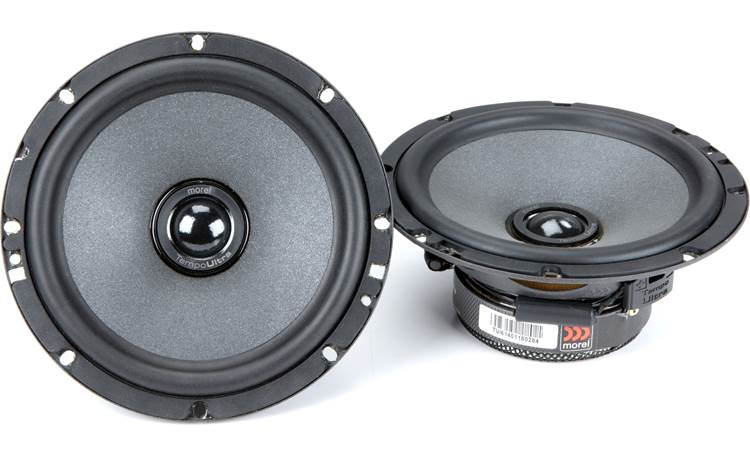 Morel Tempo Ultra Integra 602 Morel builds the Tempo Ultra Integra tweeter recessed in the woofer cone to improve imaging