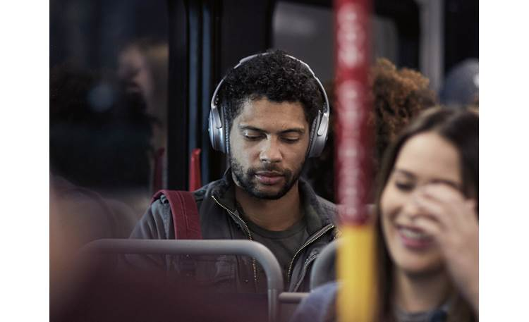 Bose® QuietComfort® 35 (Series I) Acoustic Noise Cancelling® wireless headphones Music plays wirelessly via Bluetooth from your phone or music device