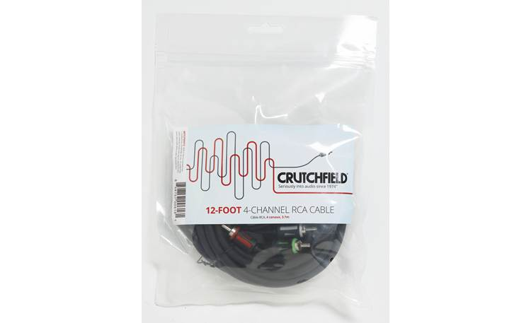 Crutchfield 4-Channel RCA Patch Cables More Photos