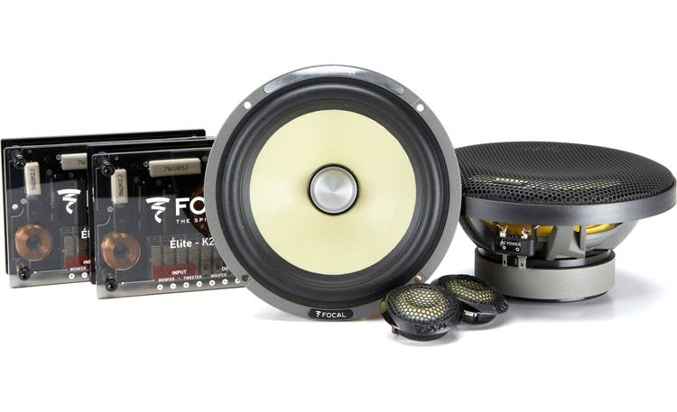 Focal ES 165K2 Focal builds the K2 Power Series by hand in France.