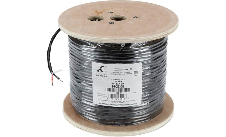 Outdoor Sound System 500 feet of burial-rated speaker wire included