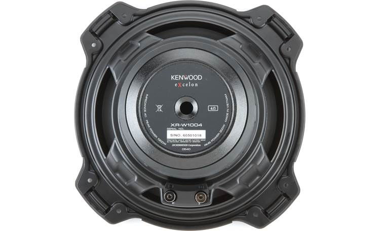 Kenwood Excelon XR-W1004 Back