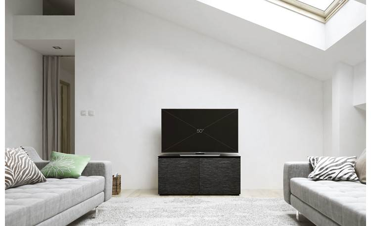Salamander Designs Chameleon Collection Chicago 221 Minimalist high-tech styling (TV not included)