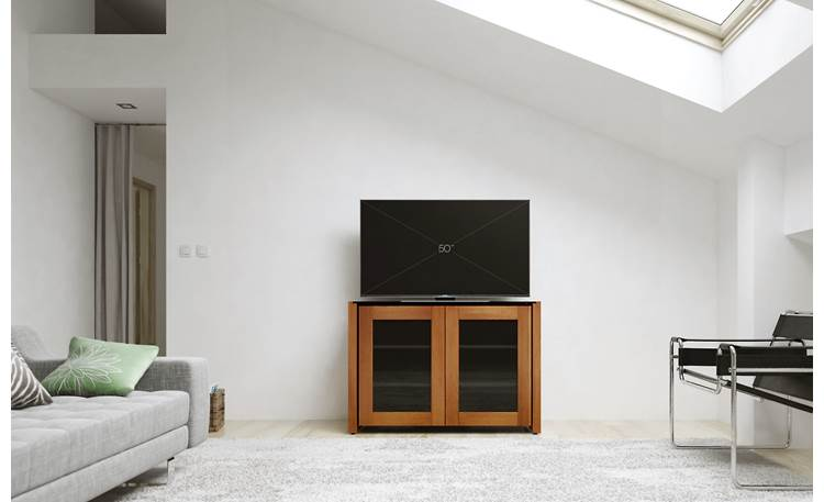 Salamander Designs Chameleon Collection Corsica 323 Stores up to 6 components behind glass-panel doors (TV not included)