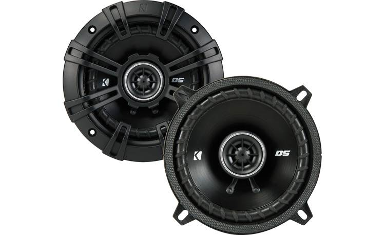 Kicker 43DSC504 The slim profile design of Kicker's DS Series makes these speakers a fit for more vehicles