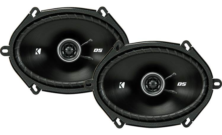 Kicker 43DSC6804 The slim profile design of Kicker's DS Series makes these speakers a fit for more vehicles