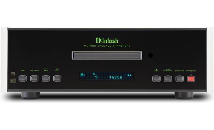 McIntosh MCT450 Direct front-panel view
