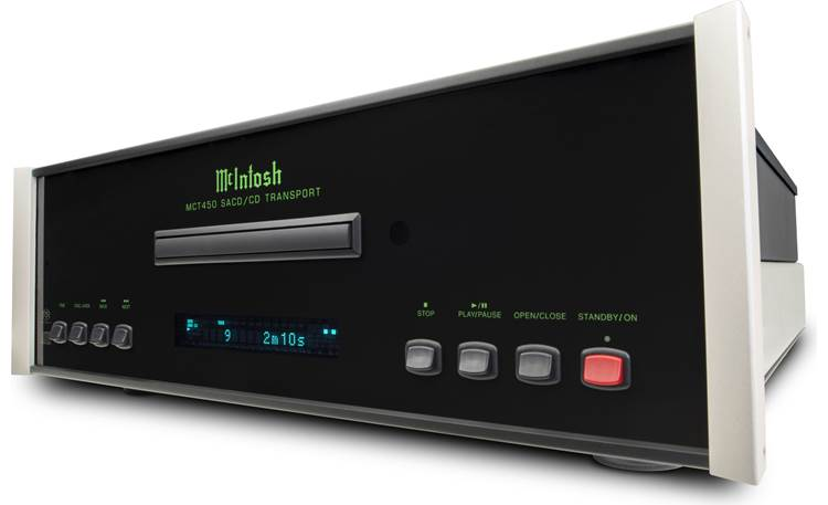 McIntosh MCT450 Angled front view