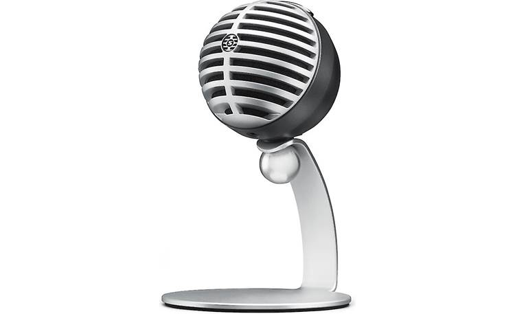 Shure MOTIV™ MV5 Gray with black foam - with included table stand