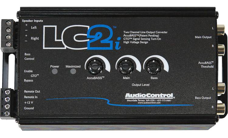 AudioControl LC2i Other